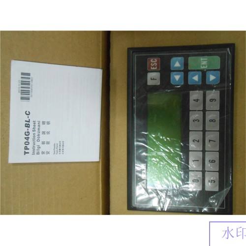TP04G-BL-C Delta Text Panel HMI STN LCD single color 4 Lines Display