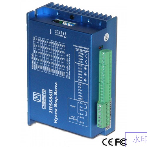 2 phase NEMA 24 3N.m 425ozf.in Closed loop Stepper servo motor driver kit JMC 60J1887EC-1000+2HSS86H