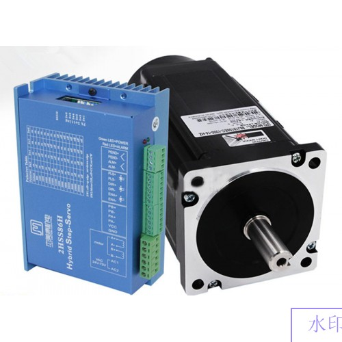 2 phase NEMA 34 12N.m 1699ozf.in Closed loop Stepper servo motor driver kit JMC 86J18156EC-1000+2HSS86H