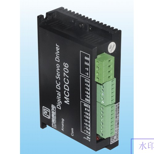 36W-200W 24V-50VDC All Digital Brushed DC Servo Motor Driver JMC MCDC706