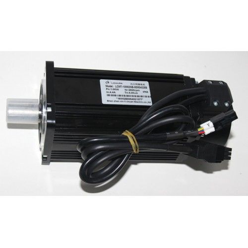 1phase 220V 1000W 1KW 4N.m 2500rpm NEMA34 AC servo motor drive kit 2500ppr with 3m cable