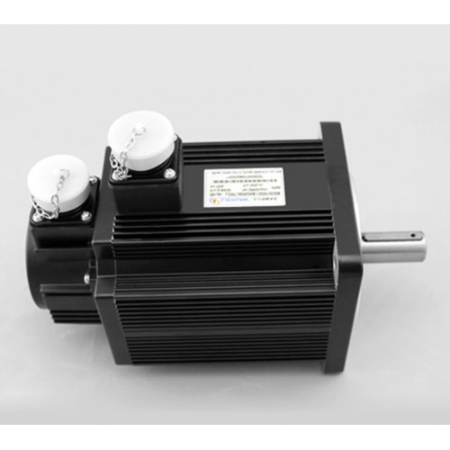 3phase 220V 1000W 1KW 4N.m 2500rpm 130mm AC servo motor drive kit 2500ppr with 3m cable