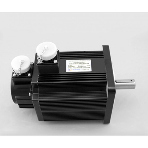 3phase 220V 2000w 2kw 7.7N.m 2500rpm 130mm AC servo motor drive kit 2500ppr with 3m cable