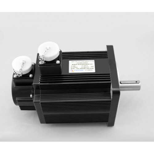 3phase 220V 3800w 3.8kw 15N.m 2500rpm 130mm AC servo motor drive kit 2500ppr with 3m cable